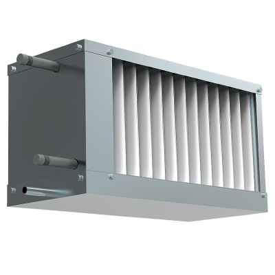 Водяной охладитель для прямоугольных каналов WHR-W 400*200-3