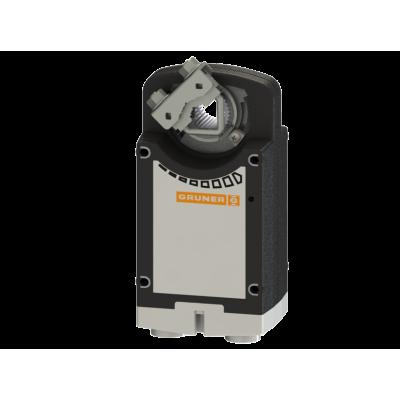 Электропривод Gruner 361C-024-10-S2 с возвр. пружиной