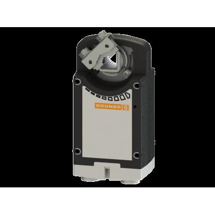 Электропривод Gruner 361C-024-20-S2 с возвр. пружиной